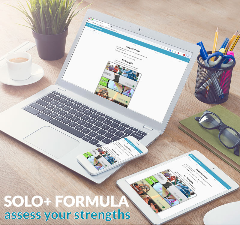 SOLO+ strengths app