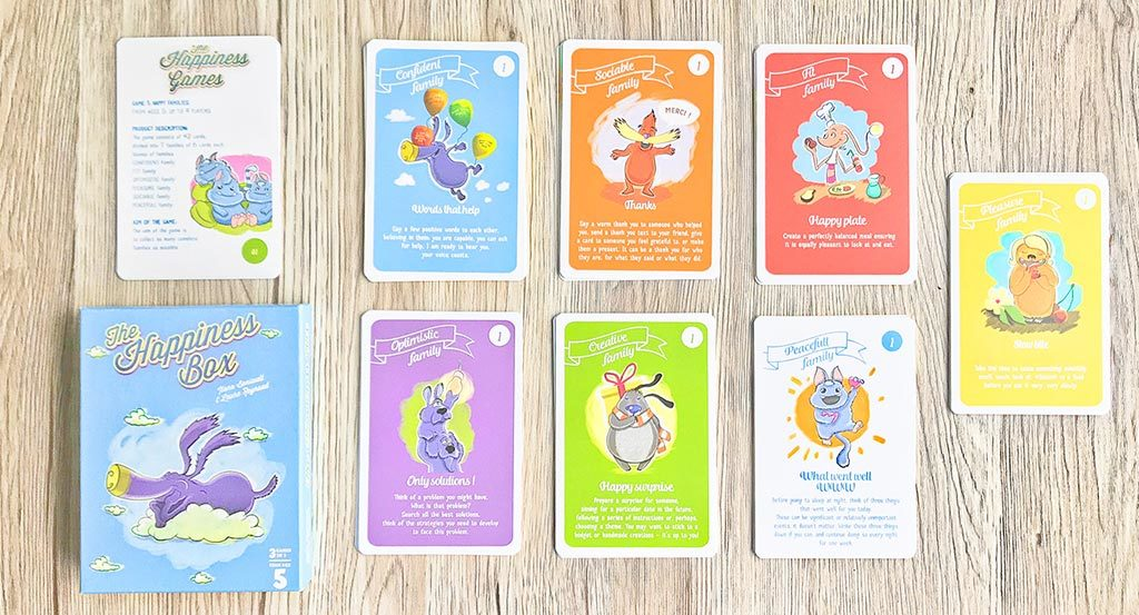 The Happiness Box Cards